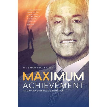Maximum Achievement: Brian Tracy Story (DVD)