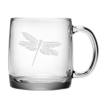 - August Grove Cornwell Dragonfly Coffee Mug (Set of 4)