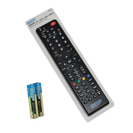 HQRP Remote Control for Panasonic TC-P65S2, TC-P65S60, TC-P65ST30, TC-P65ST50, TC-P65ST60, TC-P65V10, TX-32LX780M LCD LED HD TV Smart 1080p 3D Ultra 4K Plasma + HQRP Coaster (Samsung Plasma 3d Tv Remote)