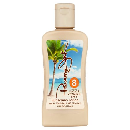 Panama Jack Sunscreen Lotion, SPF 8, 6 fl oz