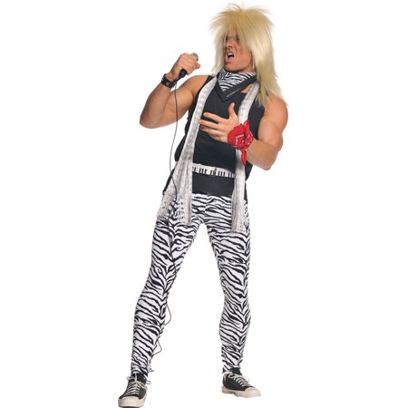 Morris costumes UR29319 80'S Rocker Mens (70's And 80's Party Costumes)