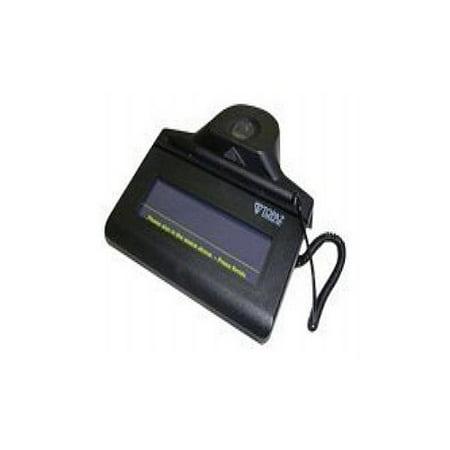Topaz IDLite 1x5 TF-S463-HSB-R - Signature terminal - 4 4 x