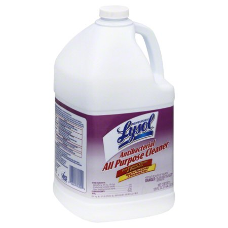 Professional Lysol Antibacterial All Purpose Cleaner, 128oz