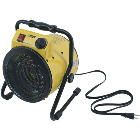 - King PSH1215T 120V 1500W Portable Shop Heater, Yellow