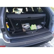 Envelope style trunk cargo net for Jeep Grand Cherokee 2011 12 13 14 15 16 17 2018
