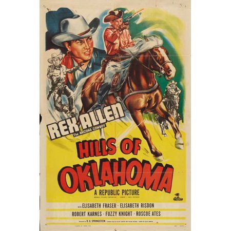 Hills of Oklahoma POSTER Movie Mini Promo - Oklahoma Aquarium Halloween