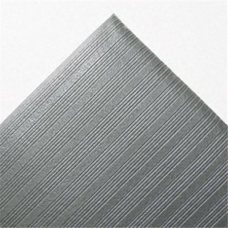 Crown FL3660GY Ribbed Antifatigue Mat- Vinyl- 36 x 60- Gray - image 1 of 1