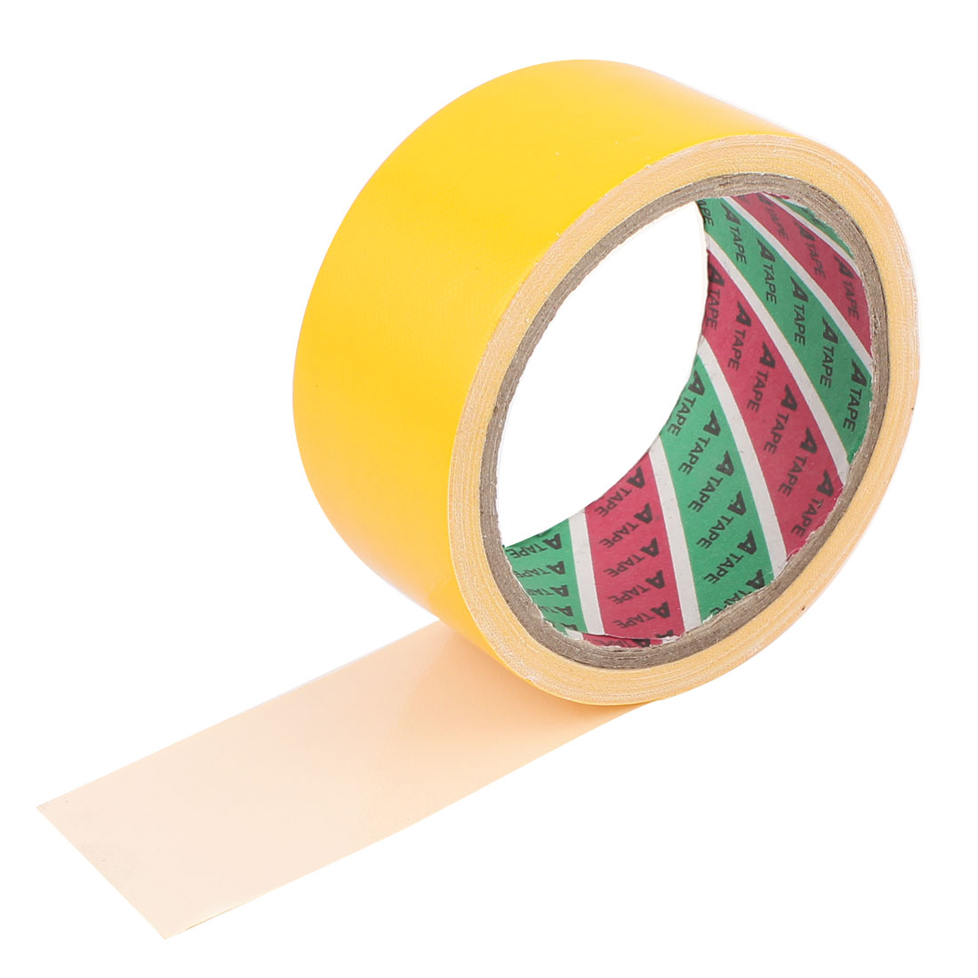 Unique Bargains Yellow 43mm Adhesive Duct Cloth Tape For Cable Wiring Harness Loom