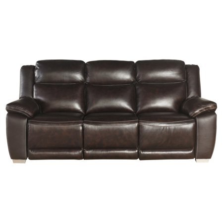 Abbyson Lilah Leather Reclining Sofa