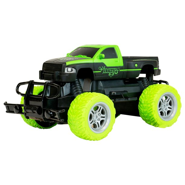 Off Road Large Monster Pick Up Truck Remote Controlled Toy Vehicle Walmart Com Walmart Com