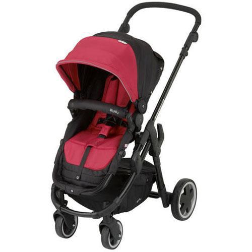 Kiddy 56-120-BG-055 - Click n Move 3 Stroller - Cranberry
