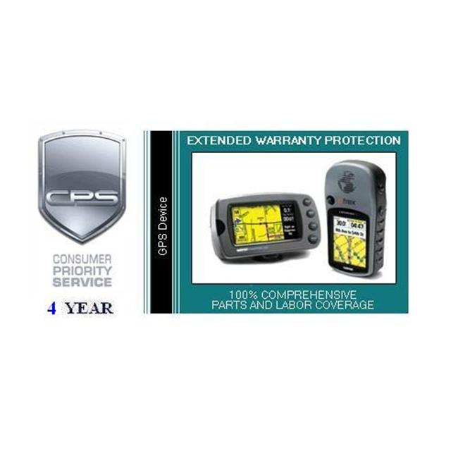 Consumer Priority Service GPS4-500 4 Year GPS Device under $500. 00