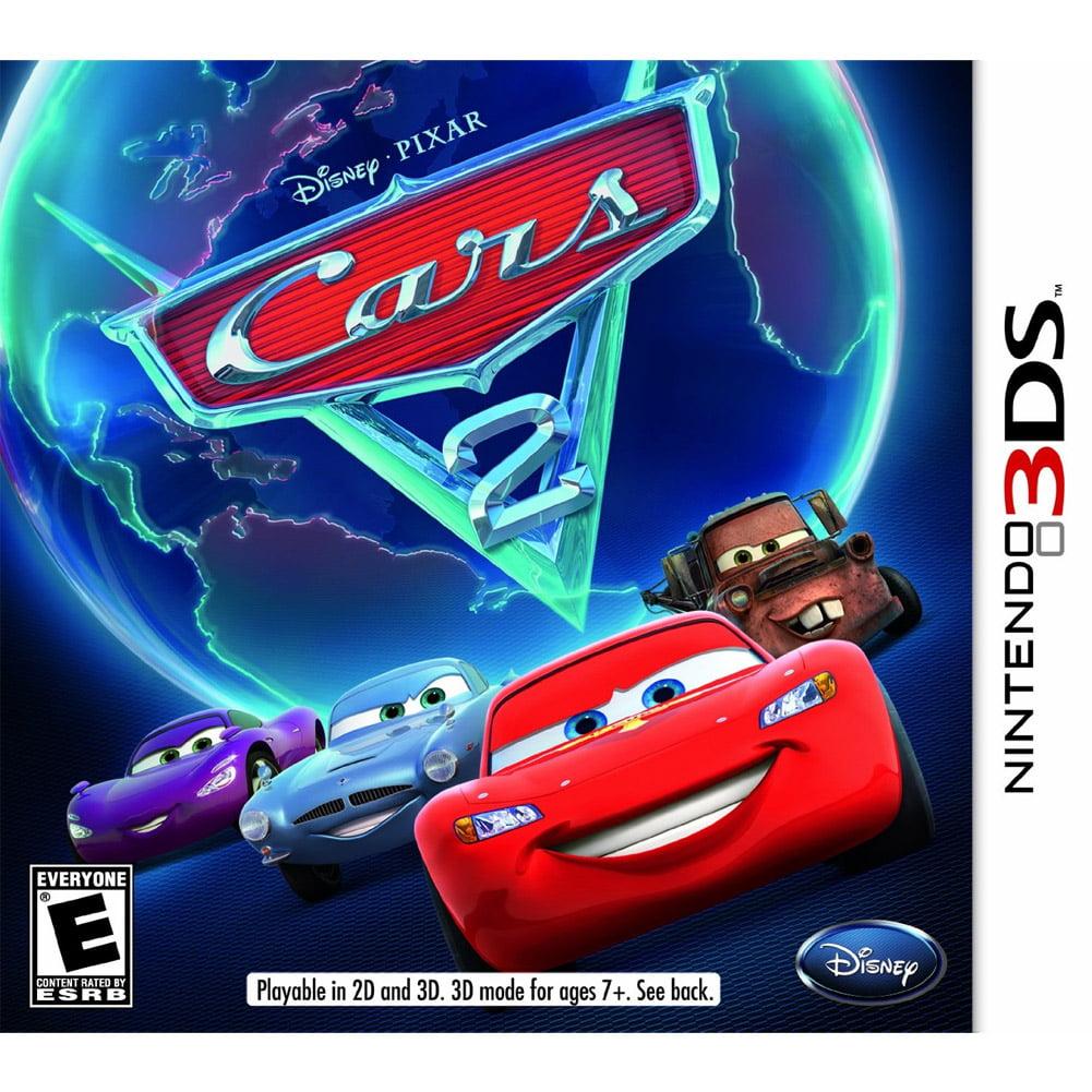 Disney Pixar Cars 2 Nintendo 3ds Walmart Com