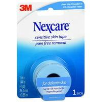 3m Nexcre Sens Skn Tape Size 1ct 3m Nexcare Sensitive Skin Tape 1inx4yds 1ct