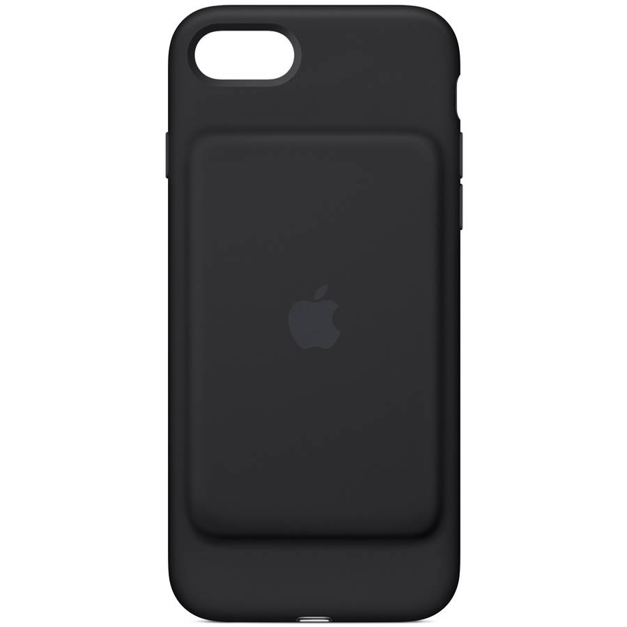 iphone smart case apple smart battery for iphone 7 black walmart 12325