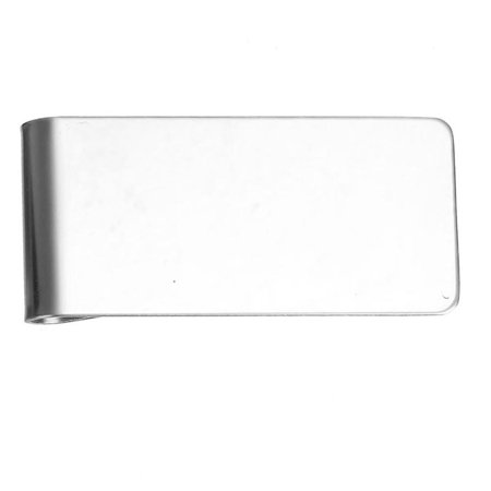 Mens Money Clip   Credit Card Holder Stainless Steel