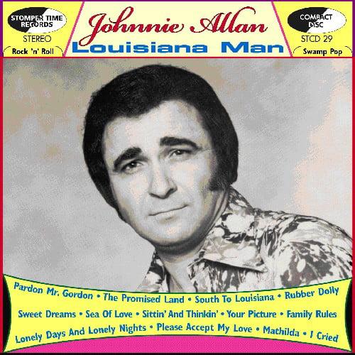 Johnnie Allan - Louisiana Man [CD]