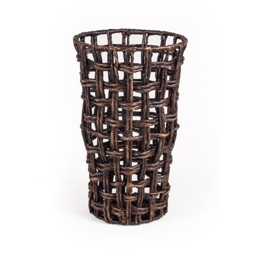 New Rustics Home 16.5H in. Round Water Hyacinth Basket