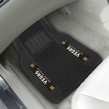 Vegas Golden Knights 2-pc Deluxe Car Mat Set