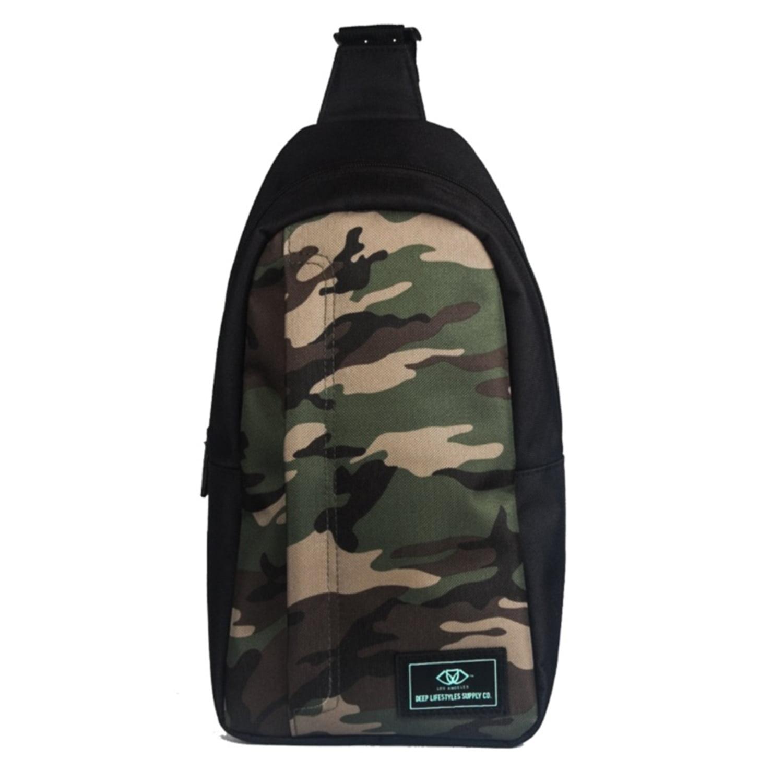 Outdoor Sport Travel Sling Chest Bag Shoulder Backpack Crossbody Bag Daypack by