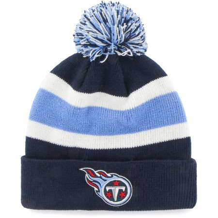 5cac8b0479c NFL Tennessee Titans Breakaway Knit Beanie with Pom by Fan Favorite -  Walmart.com