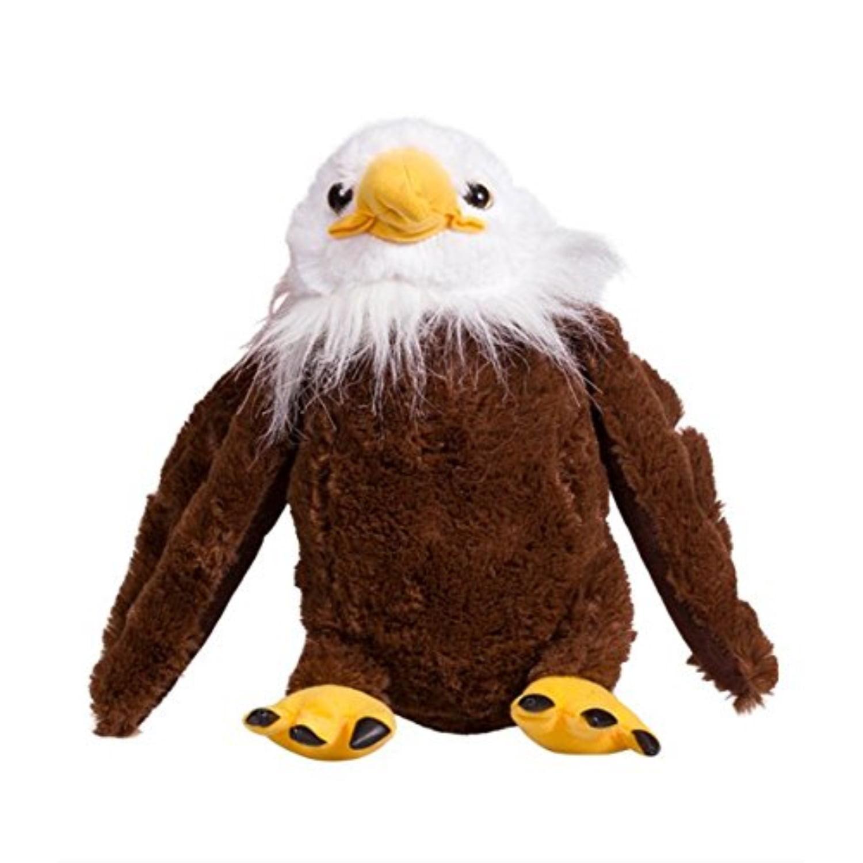 Recordable Teddy Bear Walmart, Bearegards Com Recordable 8 Talking Bald Eagle Teddy Bear Walmart Com Walmart Com