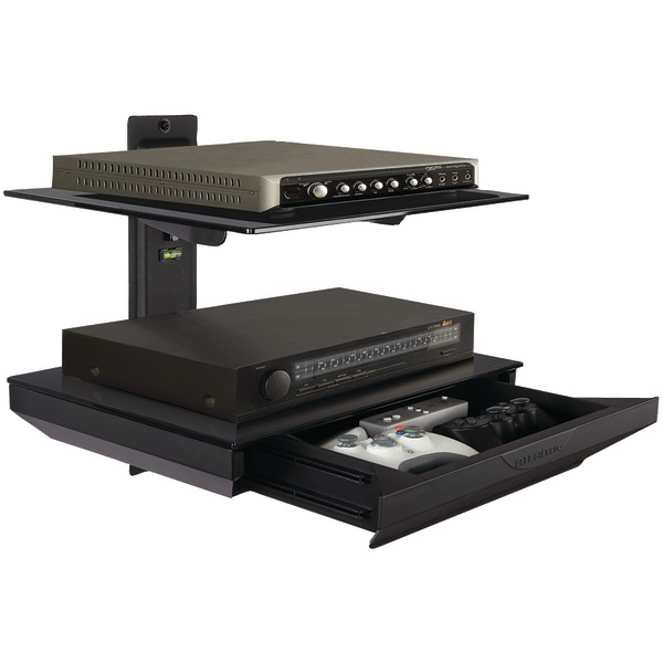 ATLANTIC 38435891 Double Component Shelf with Drawer