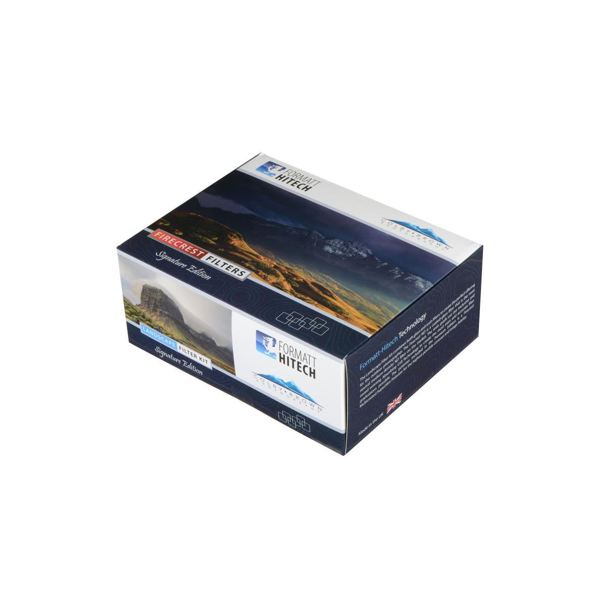 Formatt Hitech Colby Brown 100mm Signature Edition Premier Landscape Filter Kit Includes 100x100mm Firecrest Nd 1 8 Filter 100x150mm Firecrest Gradu Walmart Com Walmart Com