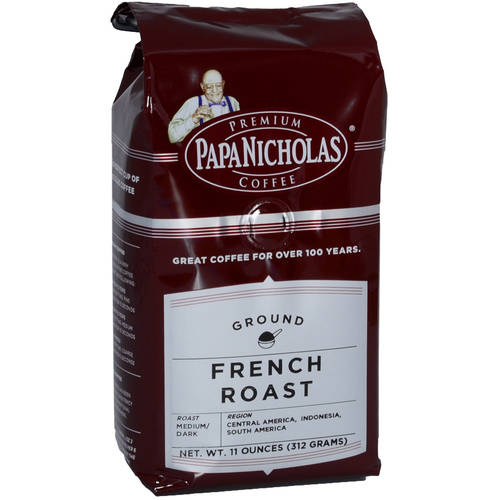 PapaNicholas French Roast Ground Coffee, 11 oz