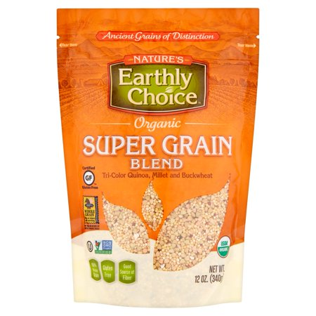 Salba Super Grain (Nature's Earthly Choice Organic Super Grain Blend, 12 oz, 6 pack )