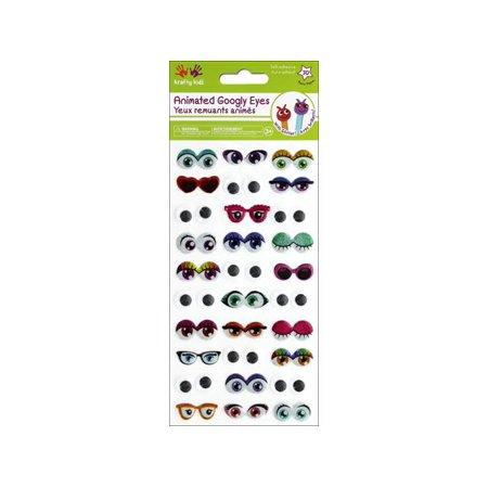 Multicraft Sticker Googly Eyes Glitter - Eye Stickers