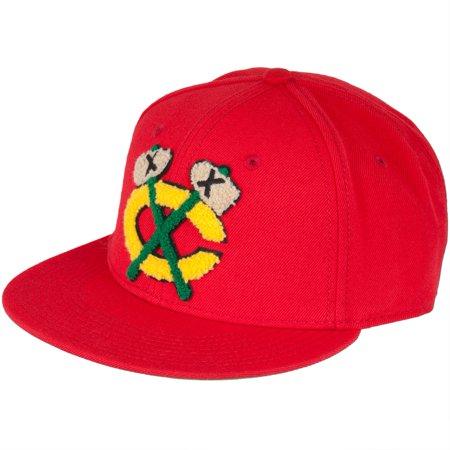 Chicago Blackhawks Snap - Chicago Blackhawks - Logo Varsity Snap Back Cap