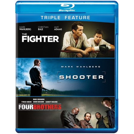 The Fighter   Shooter   Four Brothers  Blu Ray