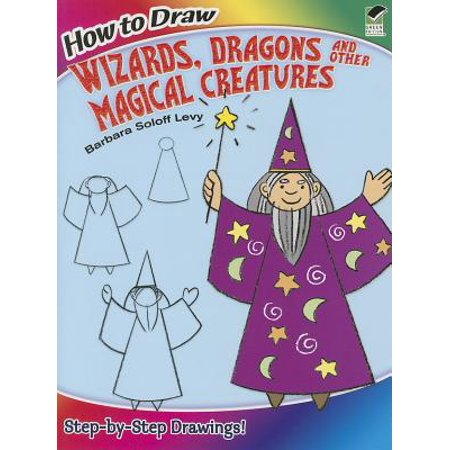 How to Draw Wizards, Dragons and Other Magical Creatures - Halloween Creatures Draw