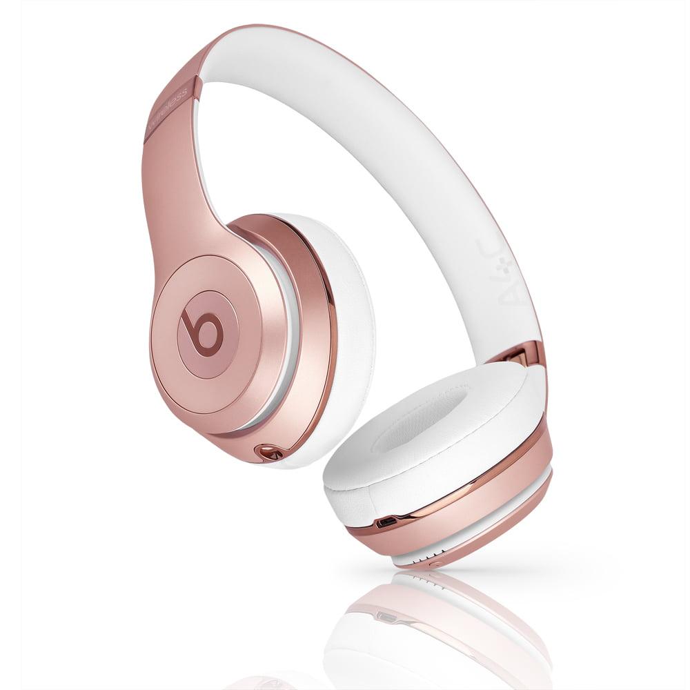 (Refurbished) Beats Solo 3 Wireless On-Ear Headphone - A1796 - Rose Gold