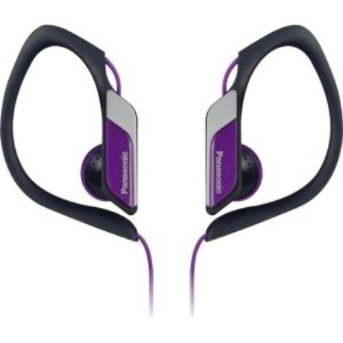 Panasonic Rp-hs34-v Earphone - Stereo - Violet - Mini-phone - Wired - 23 Ohm - 10 Hz 25 Khz - Nickel Plated - Over-the-ear, Earbud - Binaural - Outer-ear - 3.94 Ft Cable (rp-hs34-v)