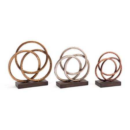 Orren Ellis Luisana 3 Piece Sculpture Set