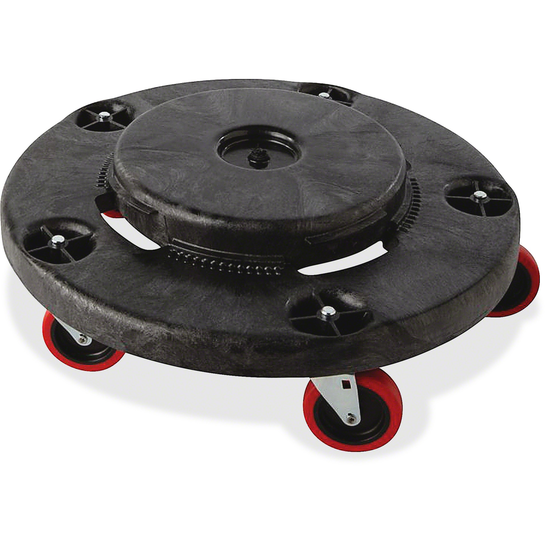 Rubbermaid Brute Quiet Dolly, Black