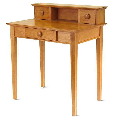 Studio Home Office Desk with Hutch