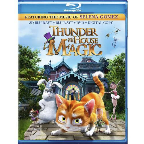 Thunder And The House Of Magic (Blu-ray 3D + Blu-ray + DVD + Digital Copy)
