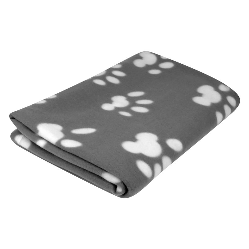 Evelots Pet Sofa Blanket-Large-Fleece-Cat-Dog-Paw-Soft-40x60 inch-Asst Colors