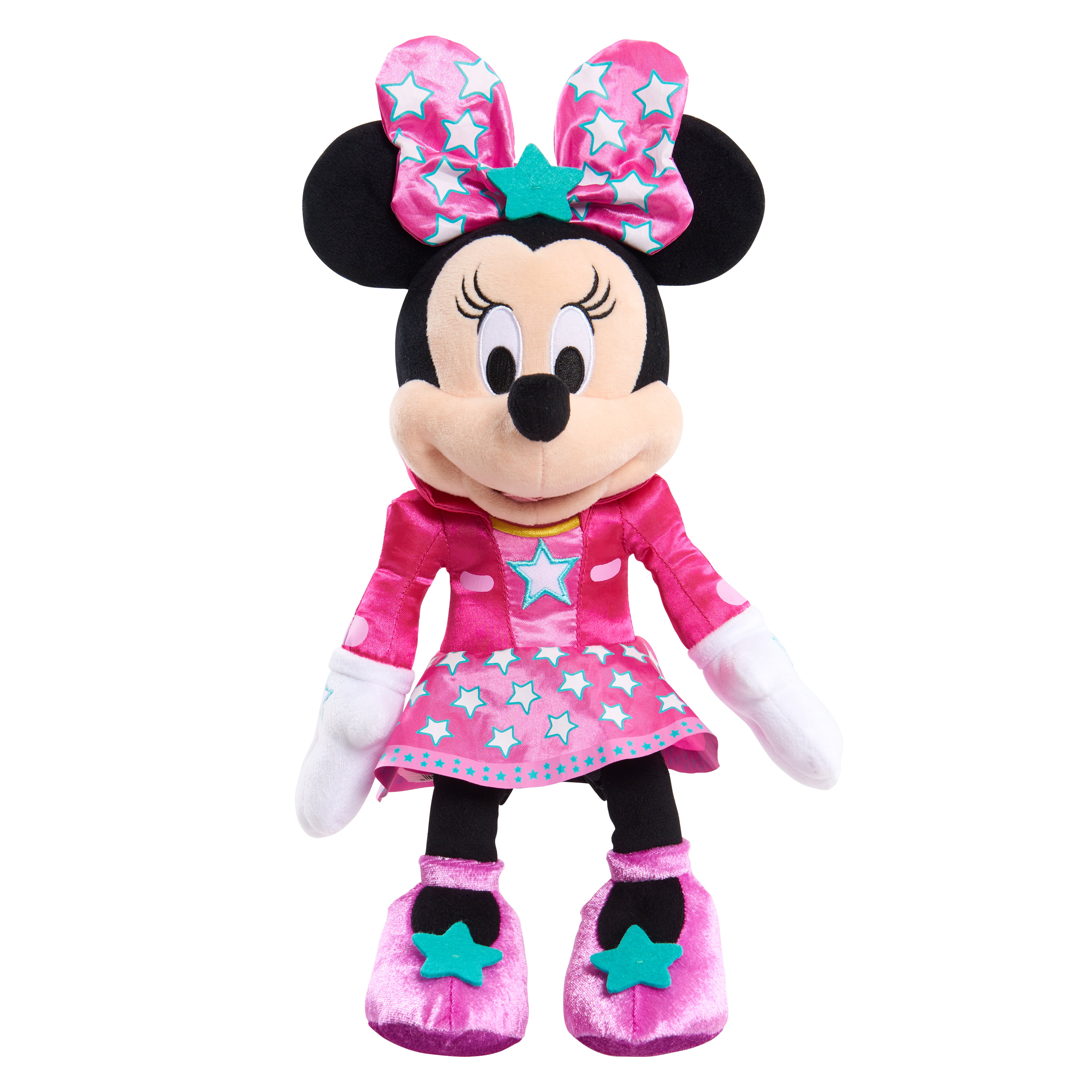 Minnie's Happy Helpers Lights & Sounds Plush – Pop Star