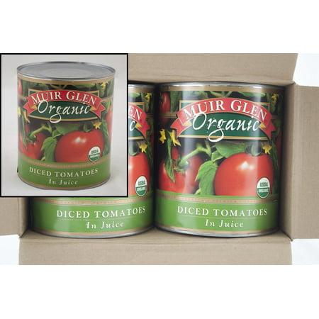 Organic Diced Tomatoes - (Price/Pack)Muir Glen 725342-26074 Muir Glen(R) Organic Tomatoes 102 Oz Diced