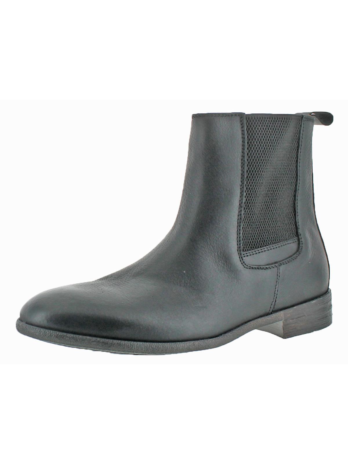robert wayne mens oregon round toe casual chelsea boots