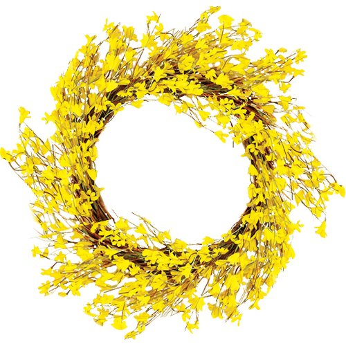 Worth Imports 22'' Forsythia Wreath