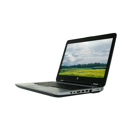"Refurbished HP 640 G2 14"" Laptop with Intel Core i5-6300U 2.4GHz Processor, 8GB Memory, 256GB SSD, Win 10 Pro (64-bit)"