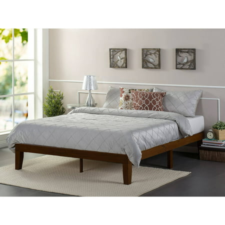 Zinus Marissa 12 Quot Wood Platform Bed Antique Espresso
