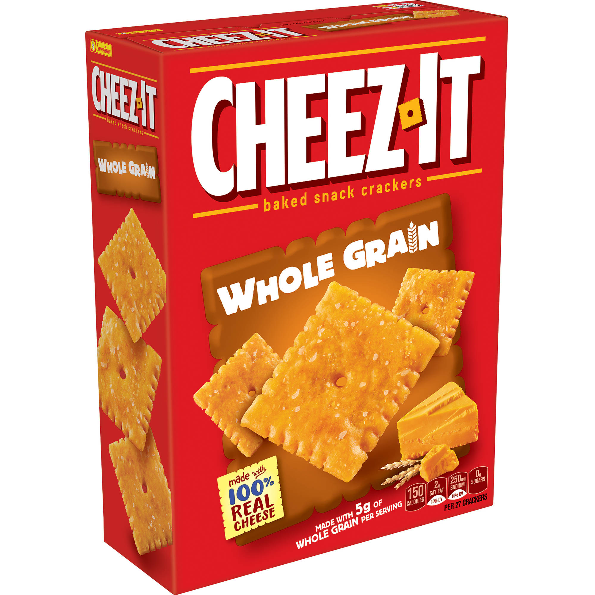 Cheez-It Whole Grain Baked Snack Crackers, 12.4 oz