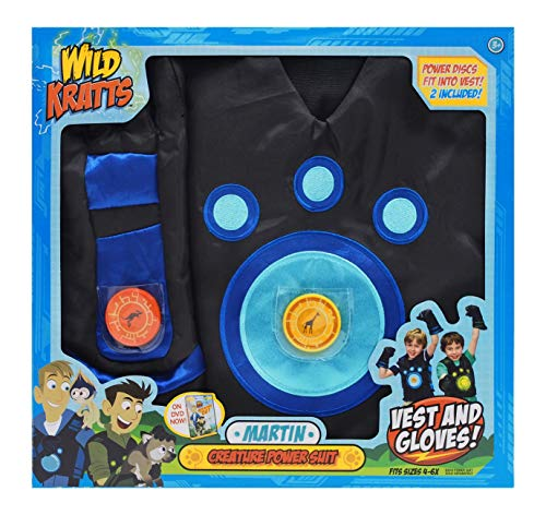 Martin Luther Halloween Costume (Wild Kratts Creature Power Suit Costume Accessory Kit:)