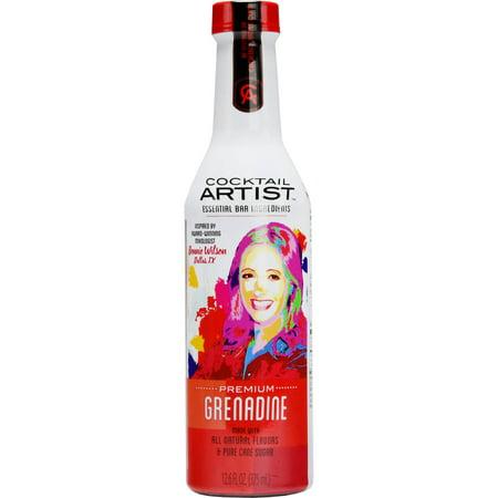 (2 Pack) Cocktail Artist Grenadine, 375 - Cocktail Finger Foods